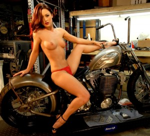 HogCrazy Harley Blog : Harley Hotties! Harley Davidson wallpaper gallery - naked biker chicks,nude biker girls,naked harley models
